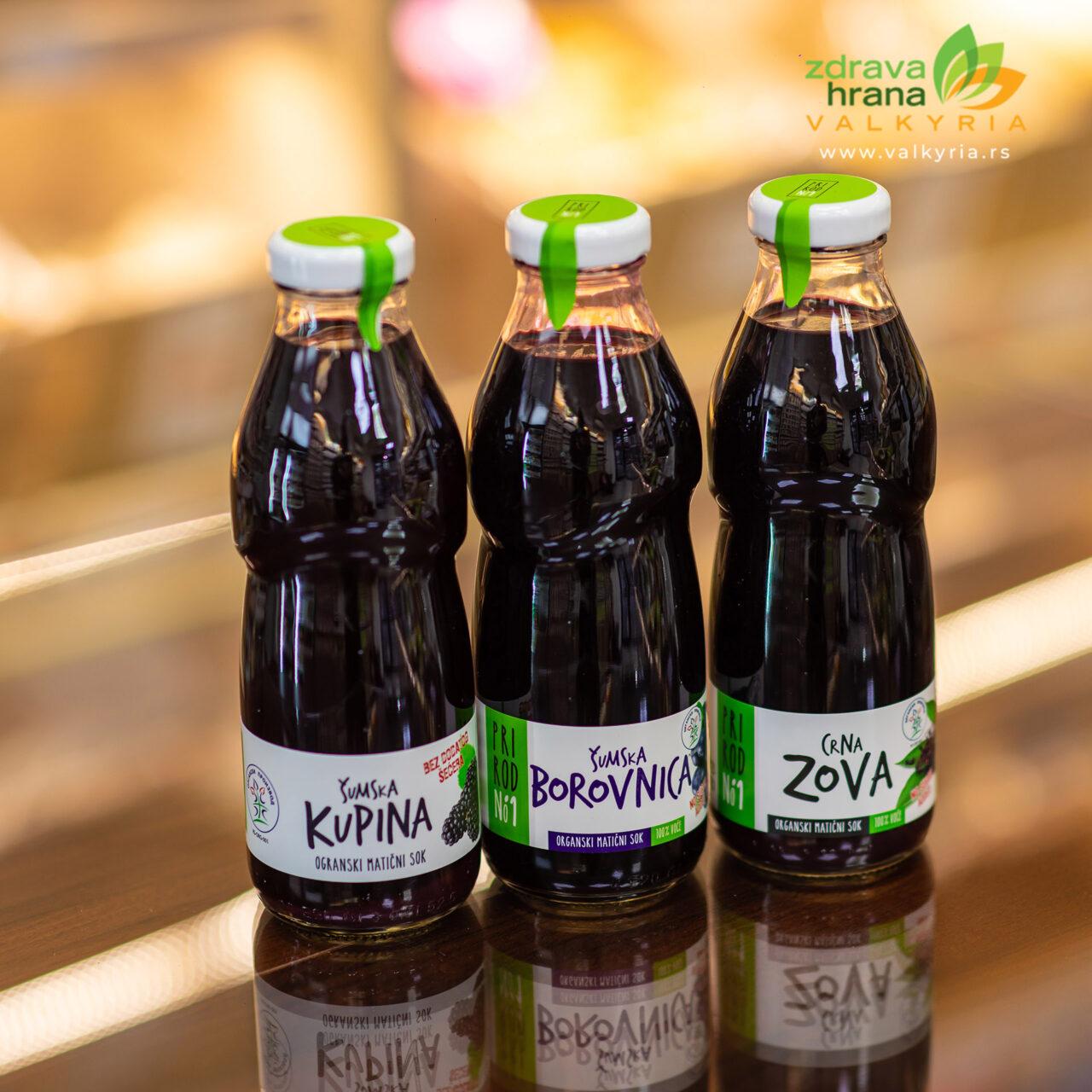 Organski sokovi Valkyria